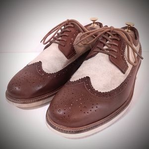 Polo Ralph Lauren Torrington 11d wingtip shoes